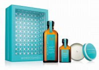 Moroccanoil Home & Away Kit inkl. Kerze