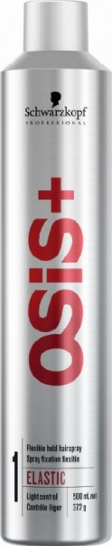 Schwarzkopf OSiS+ Elastic Flexible Hold Hairspray, 500 ml