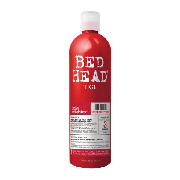 BED HEAD Resurrection Shampoo, 750 ml