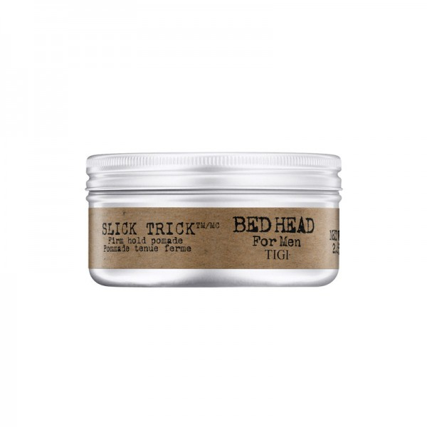 BED HEAD for Men Slick Trick Firm Hold Pomade, 75 g