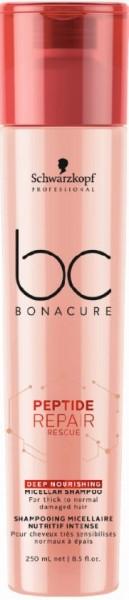 BC Bonacure Peptide Repair Rescue Deep Nourishing Shampoo