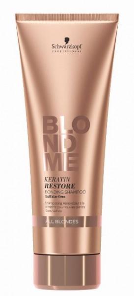 BlondME Keratin Restore Bonding Shampoo All Blondes