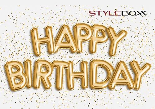 StyleBoxx Gutschein Trägerkarte Geburtstag