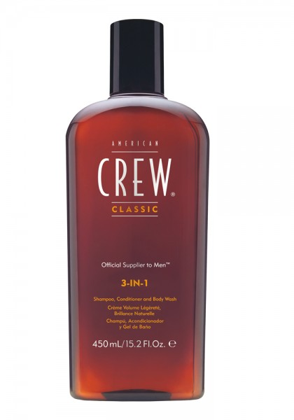 American Crew Classic 3-in-1, 450 ml