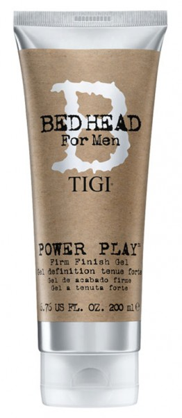 BED HEAD for Men Power Play Firm Finish Gel, 200 ml