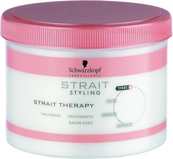 Schwarzkopf Strait Styling Strait Therapy Kur, 500 ml