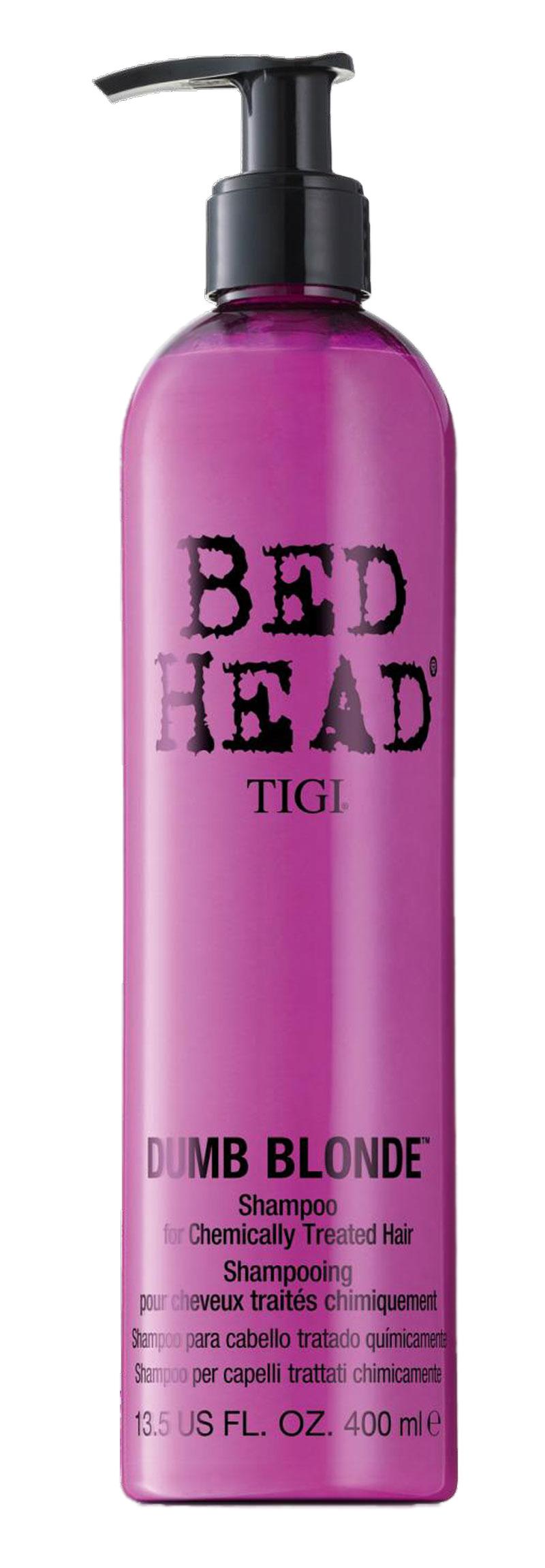 tigi bed head dumb blonde shampoo 400 ml cosmo onlineshop. Black Bedroom Furniture Sets. Home Design Ideas