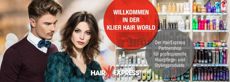 Hair Express Partner-Onlineshop Klier Hair World