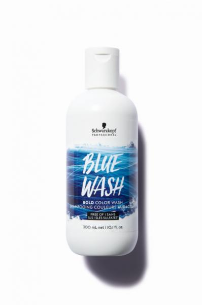 Bold Color Wash Blue Wash
