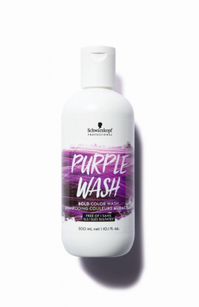 Bold Color Wash Purple Wash