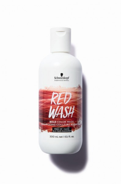 Bold Color Wash Red Wash
