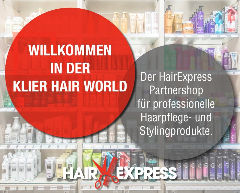 Hair Express Responsive Partner-Onlineshop Klier Hair World