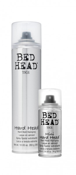 BED HEAD Hard Head Hard Hold Hairspray Duopack