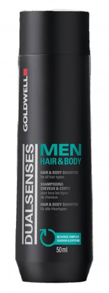 Dualsenses Men Hair & Body Shampoo, 300 ml