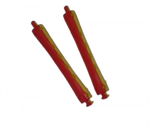 Dauerwellenwickler rot/gelb, 9 mm