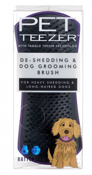 Pet Teezer De-shedding purpel