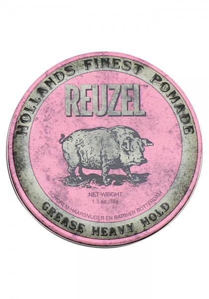 Reuzel Pomade Pink Grease Heavy Hold, 35 g