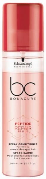 BC Bonacure Peptide Repair Rescue Spray Conditioner 200ml