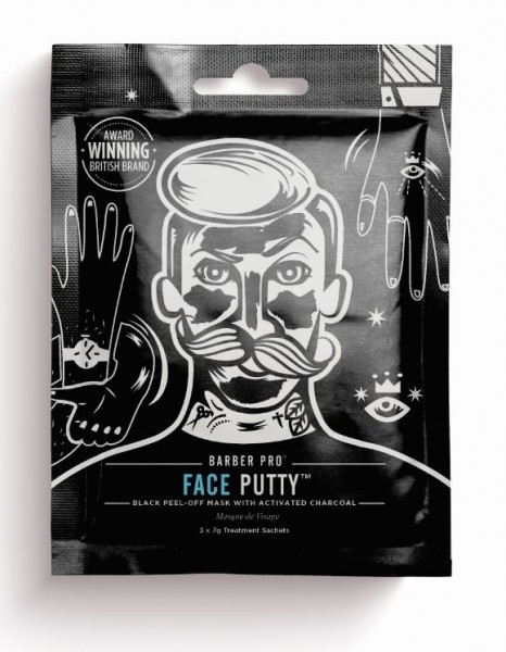 Barber Pro Face Putty Black Mask