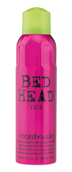 BED HEAD Headrush Shine Spray