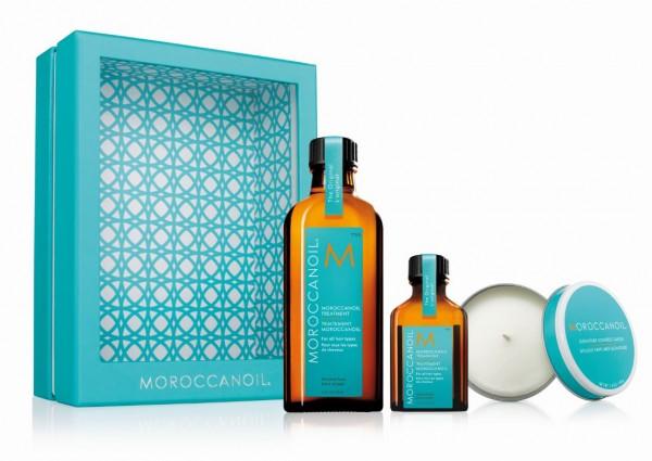 Moroccanoil Home & Away Kit inkl. Kerze