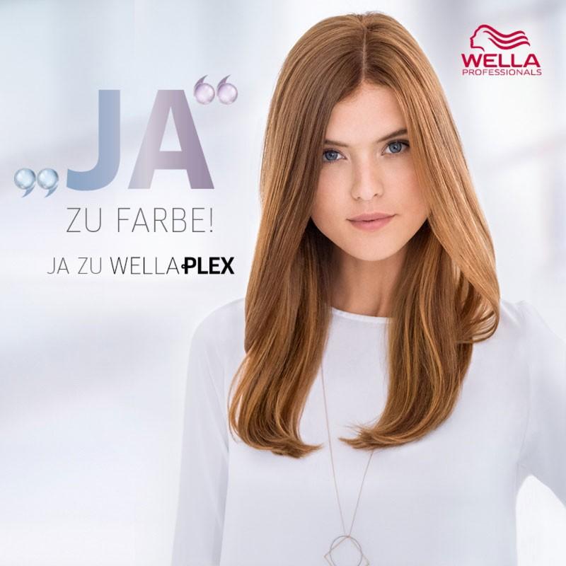 Wellaplex Service für dunkleres Haar