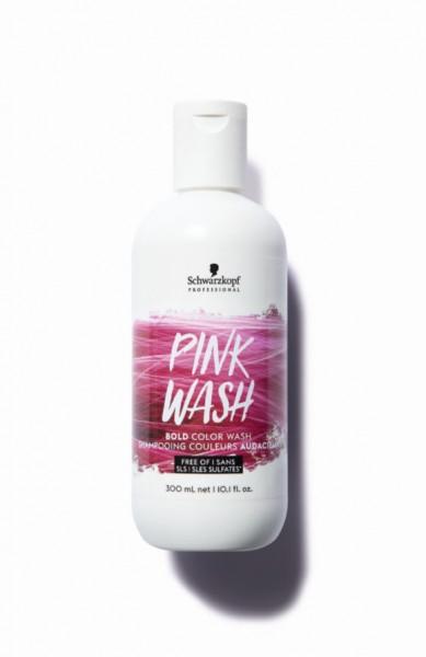 Bold Color Wash Pink Wash