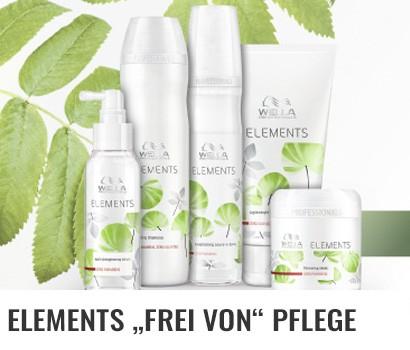Wella Professionals Elements Haarpflege ohne Silikone und frei von