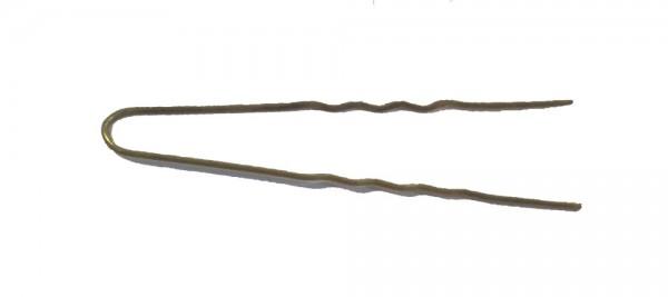 Haarnadeln gold gewellt, 45 mm