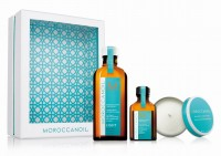 Moroccanoil Home & Away Kit light inkl. Kerze