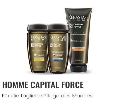 Kérastase Homme Capital Force für die tägliche Pflege des Mannes
