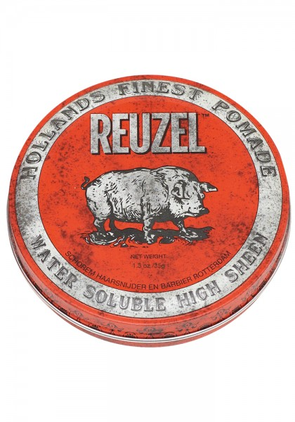Reuzel Pomade Red Water Soulable High Sheen, 35 g