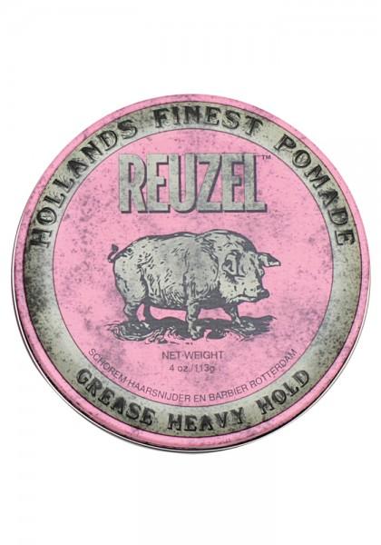 Reuzel Pomade Pink Grease Heavy Hold, 113 g