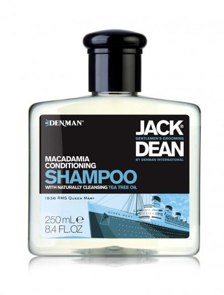 Jack Dean Pflegeshampoo Makadamia, 250 ml