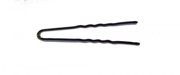 Lockennadeln gewellt braun 45 mm 50 Stück