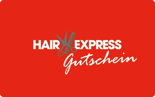HairExpress Geschenkgutschein - ab 20,- €