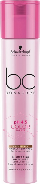 BC Bonacure Color Freeze Chocolate Micellar Shampoo 250ml