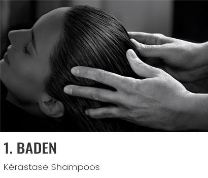 Kérastase Pflegeschritt Baden mit Shampoo