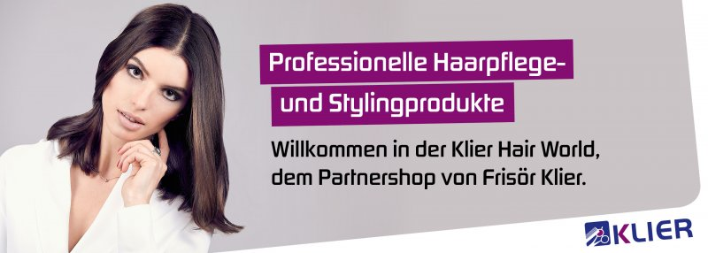 Friseur Partner-Onlineshop Klier Hair World