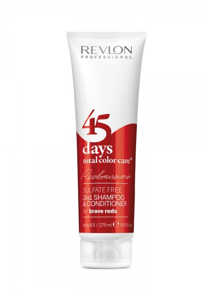 Revlonissimo 45 Days 2 in 1 Shampoo Brave Reds