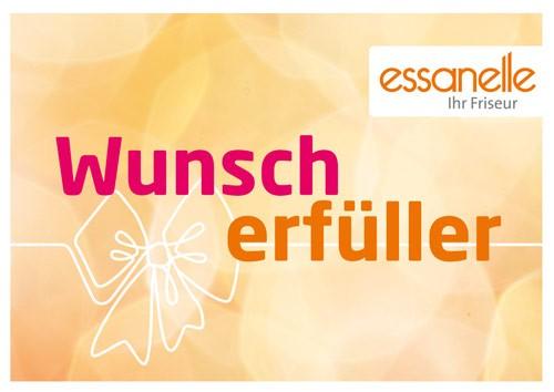 Essanelle Gutschein Trägerkarte Wunscherfüller