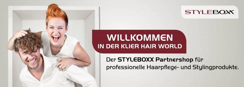 Styleboxx Partner-Onlineshop Klier Hair World