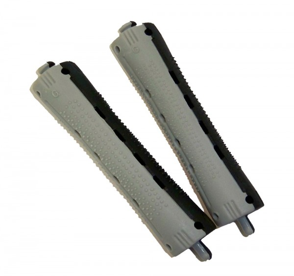 Dauerwellenwickler grau/schwarz, 16 mm