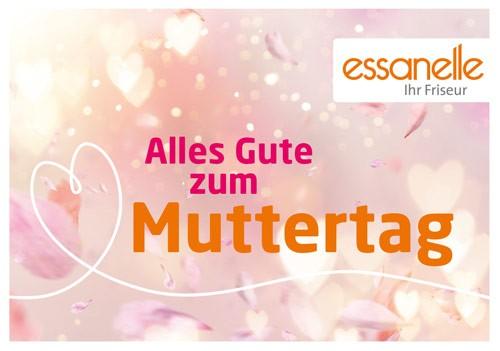 Essanelle Gutschein Trägerkarte Muttertag