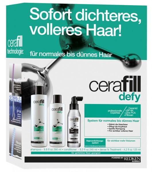 Redken Cerfaill Defy Kit
