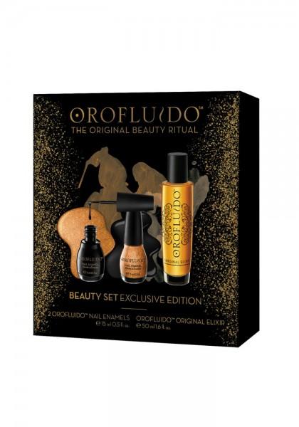 Orofluido Original Elixir Beauty Set (Elixir + 2 Nagellacke)