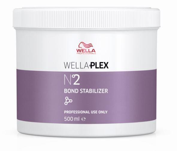 Wellaplex No 2 Bond Stabilizer stärkt die Haarstruktur nach chemischen Behandlungen