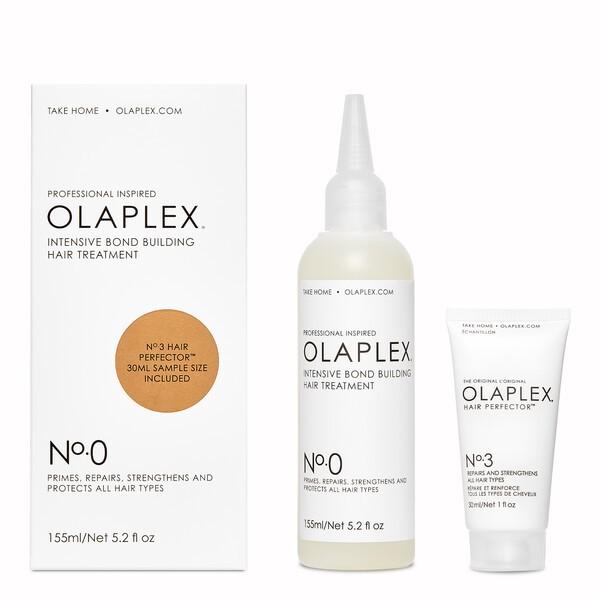 OLAPLEX No. 0 Intensive Bond Building Hair Treatment Kit