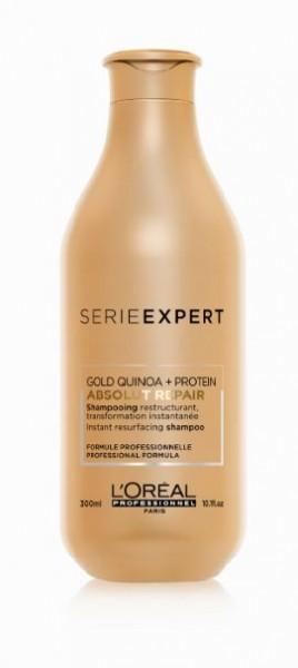 Serie Expert Absolut Repair Gold Quinoa und Protein Shampoo 0,3l