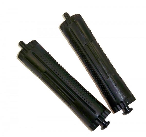 Kaltwellwickler schwarz 17 mm 12 Stück